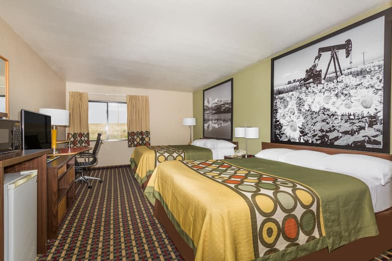 Guest Room At The Super 8 By Wyndham Sterling Co In Colorado