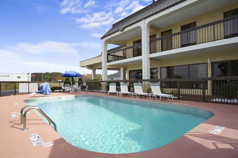 Pool At The Super 8 Calhoun In Georgia
