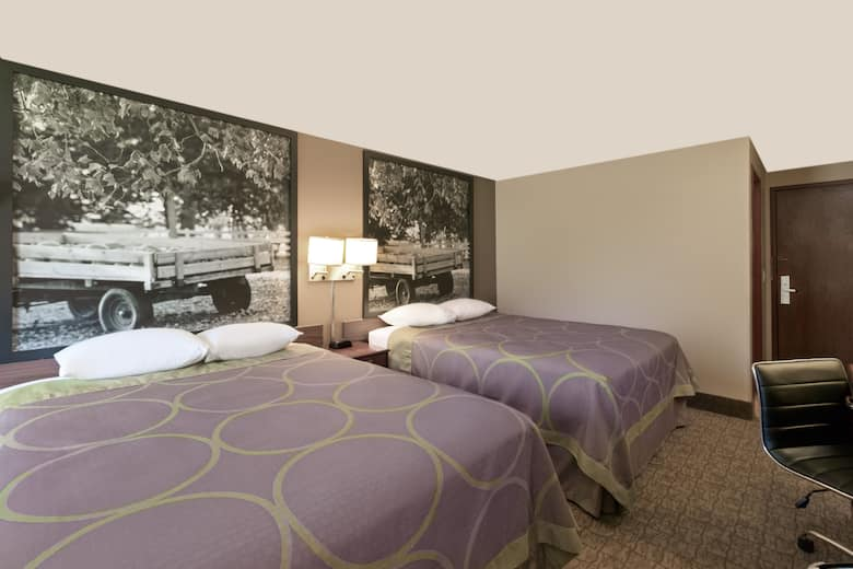 Guest Room At The Super 8 Carroll In Iowa