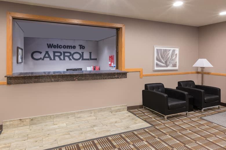 Super 8 Carroll East Hotel Lobby In Iowa