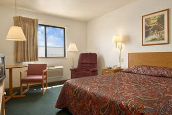 Guest Room At The Super 8 Missouri Valley In Iowa