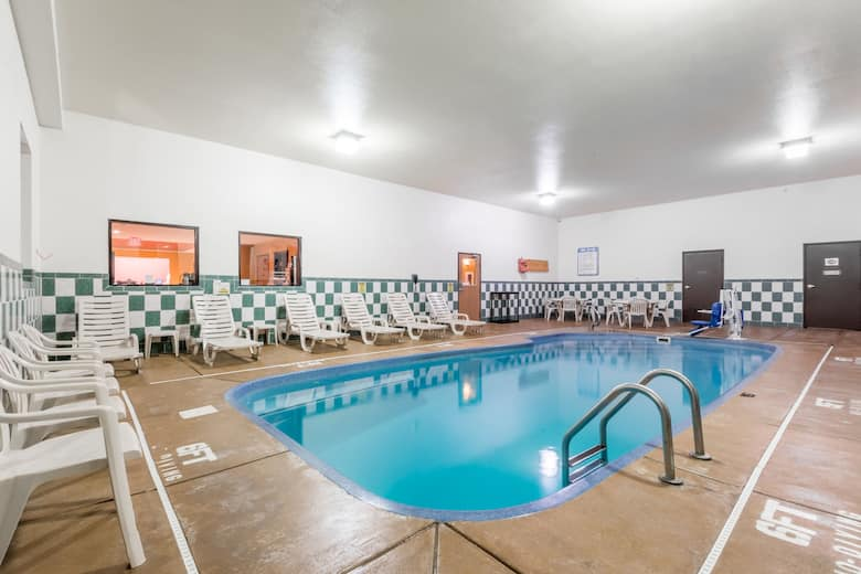 Pool At The Super 8 Cloverdale In Indiana