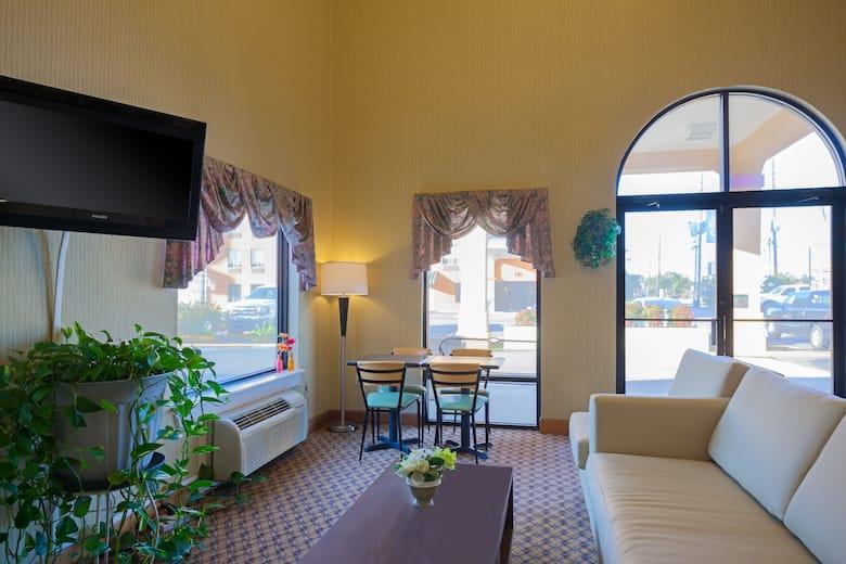 Super 8 Hammond Hotel Lobby In Louisiana