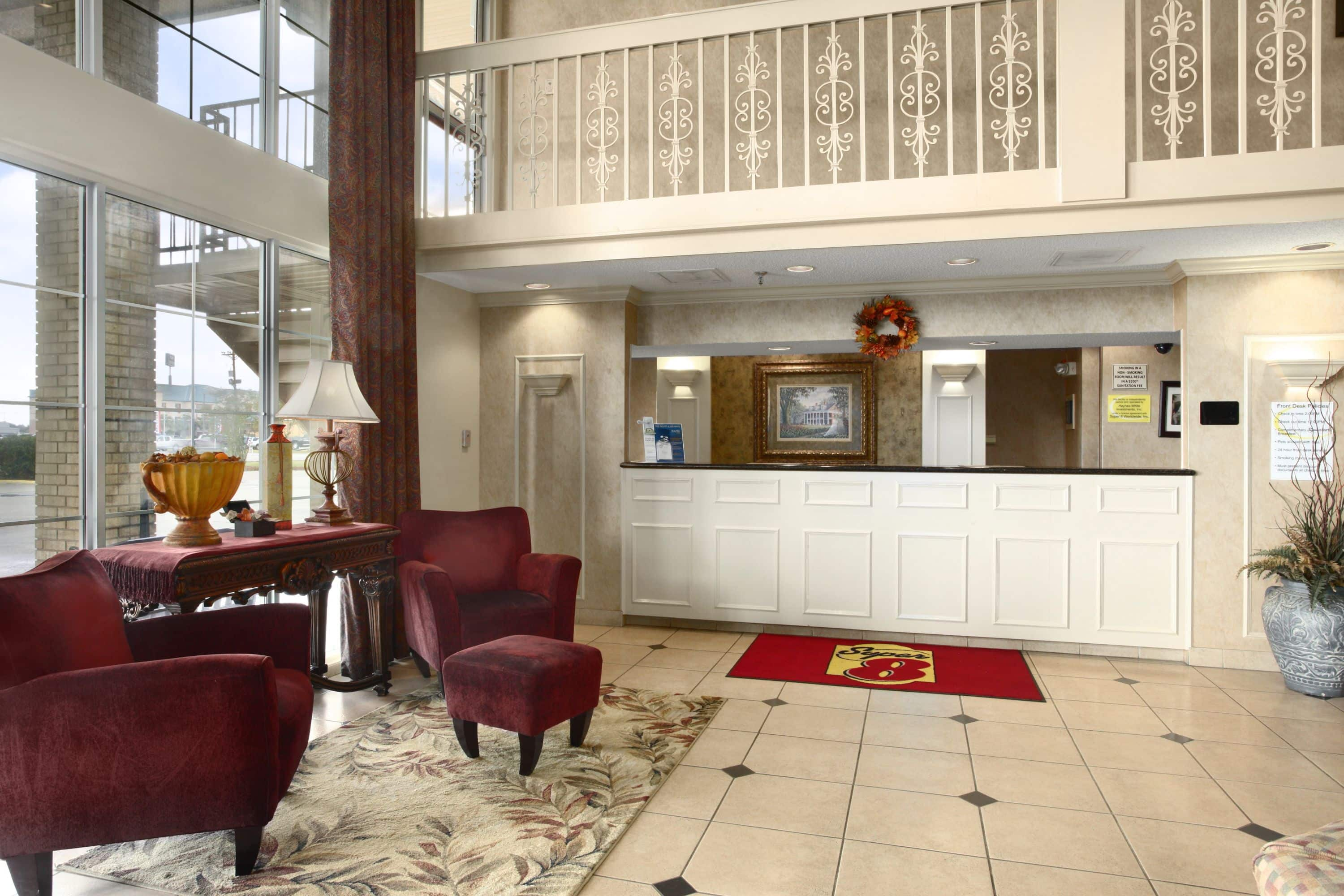 Awesome Super 8 New Iberia Hotel Lobby In New Iberia Louisiana Super 8 New Iberia  New.