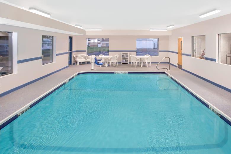 Pool At The Super 8 Three Rivers In Michigan