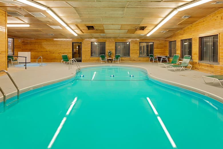 Pool At The Super 8 Valentine Ne In Nebraska