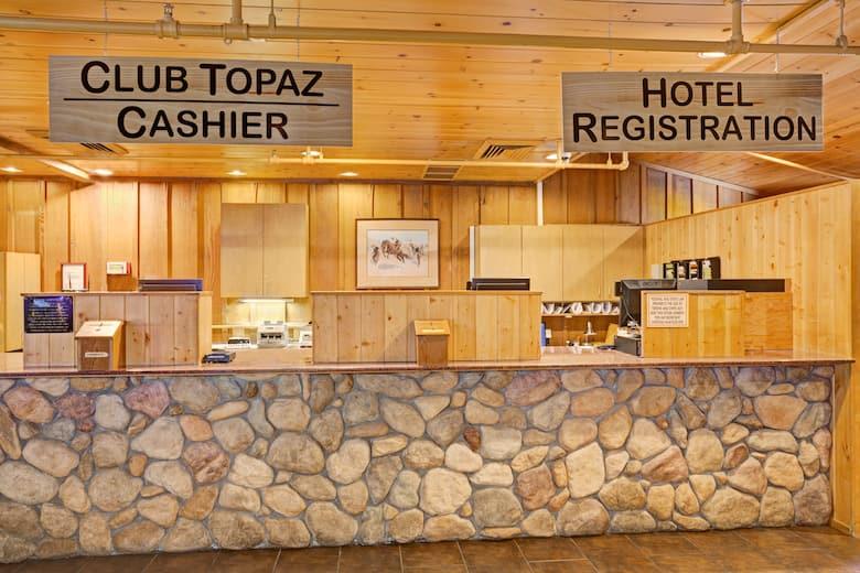 Super 8 Gardnerville Topaz Lake Hotel Lobby In Nevada