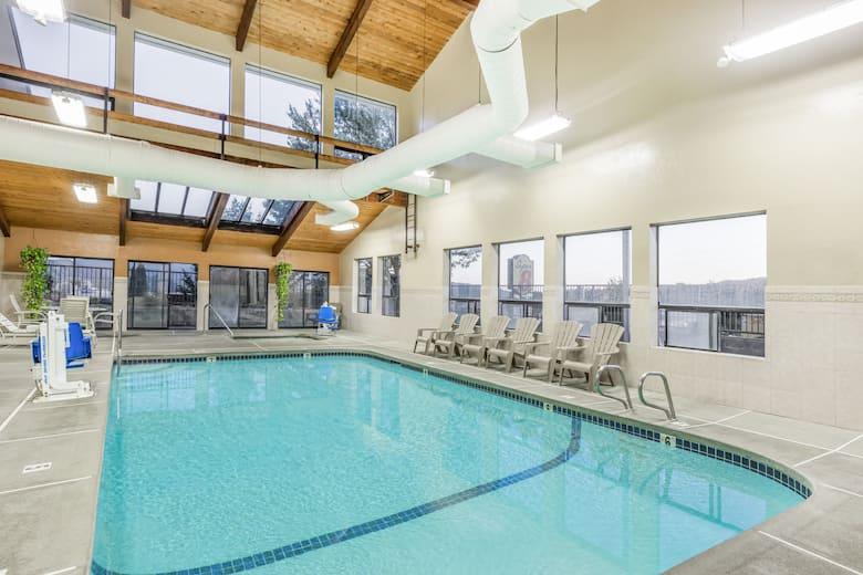 Pool At The Super 8 Grants P In Oregon