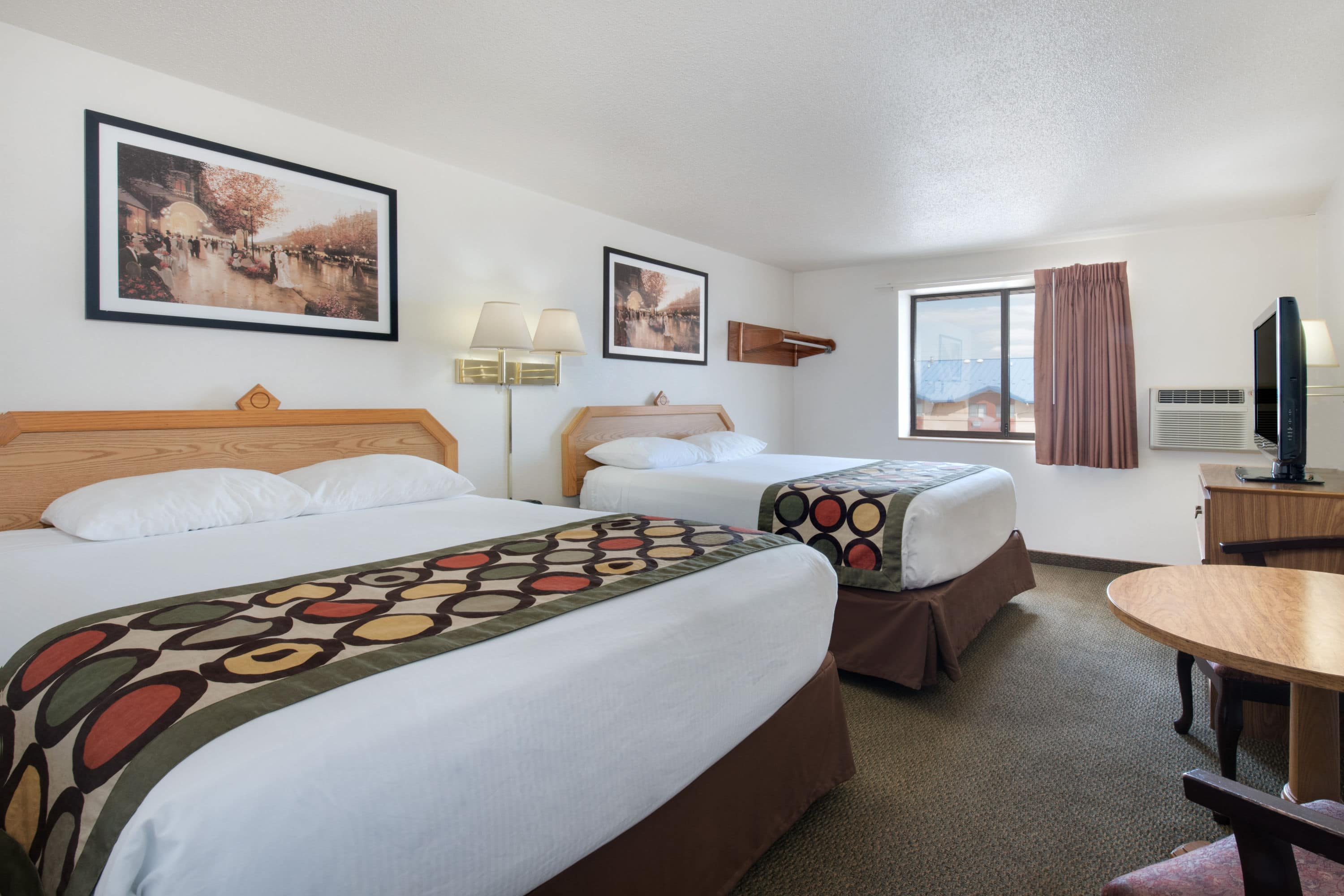 Guest Room At The Super 8 Rapid City/Lacrosse St In Rapid City, South