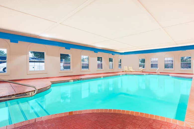 Pool at the Super 8 Lubbock TX in Lubbock Texas