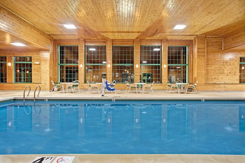 Pool At The Super 8 Hudson In Wisconsin