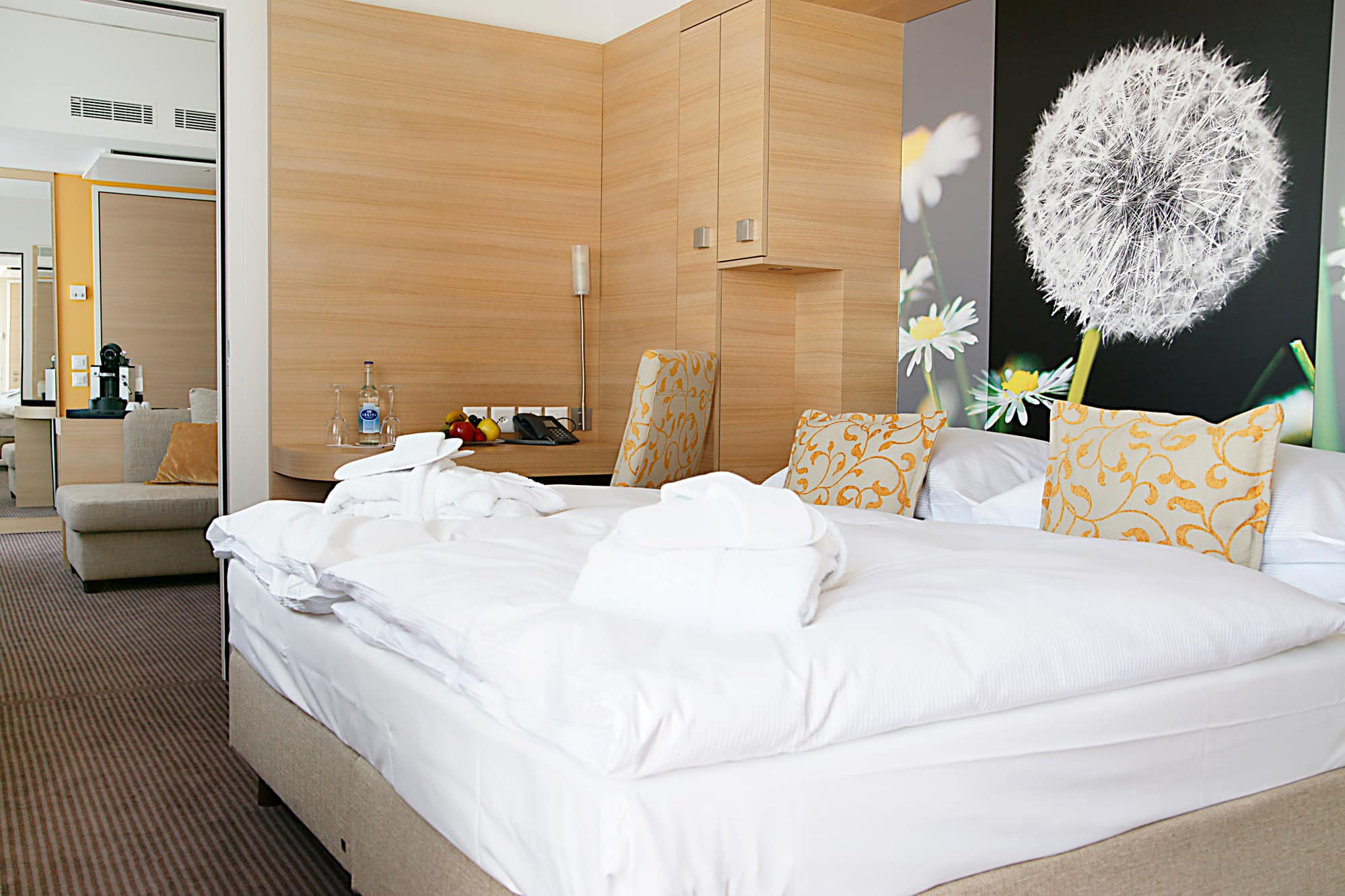 Guest room at the H+ Hotel Zurich in Zurich, Other than US/Canada