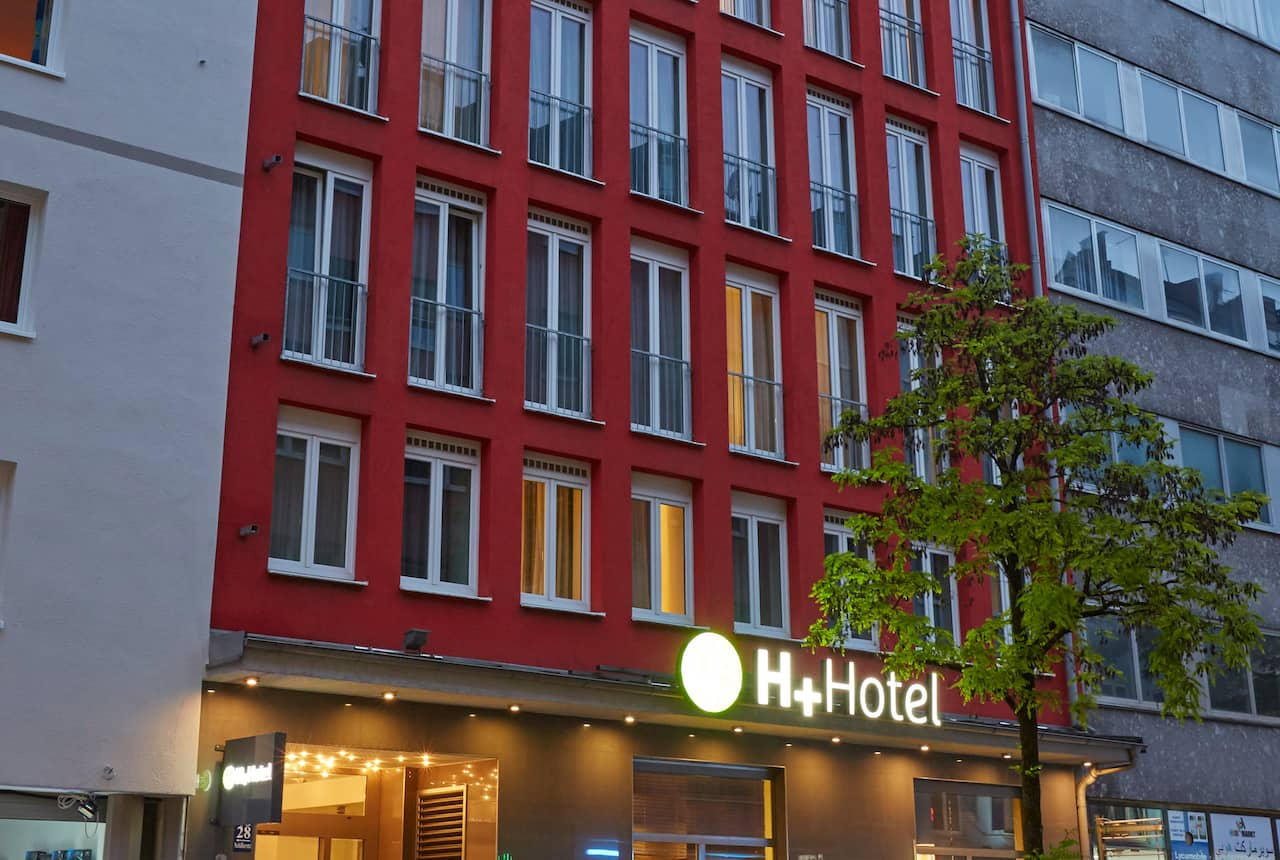 H+ Hotel Muenchen City Centre in Munich, Germany