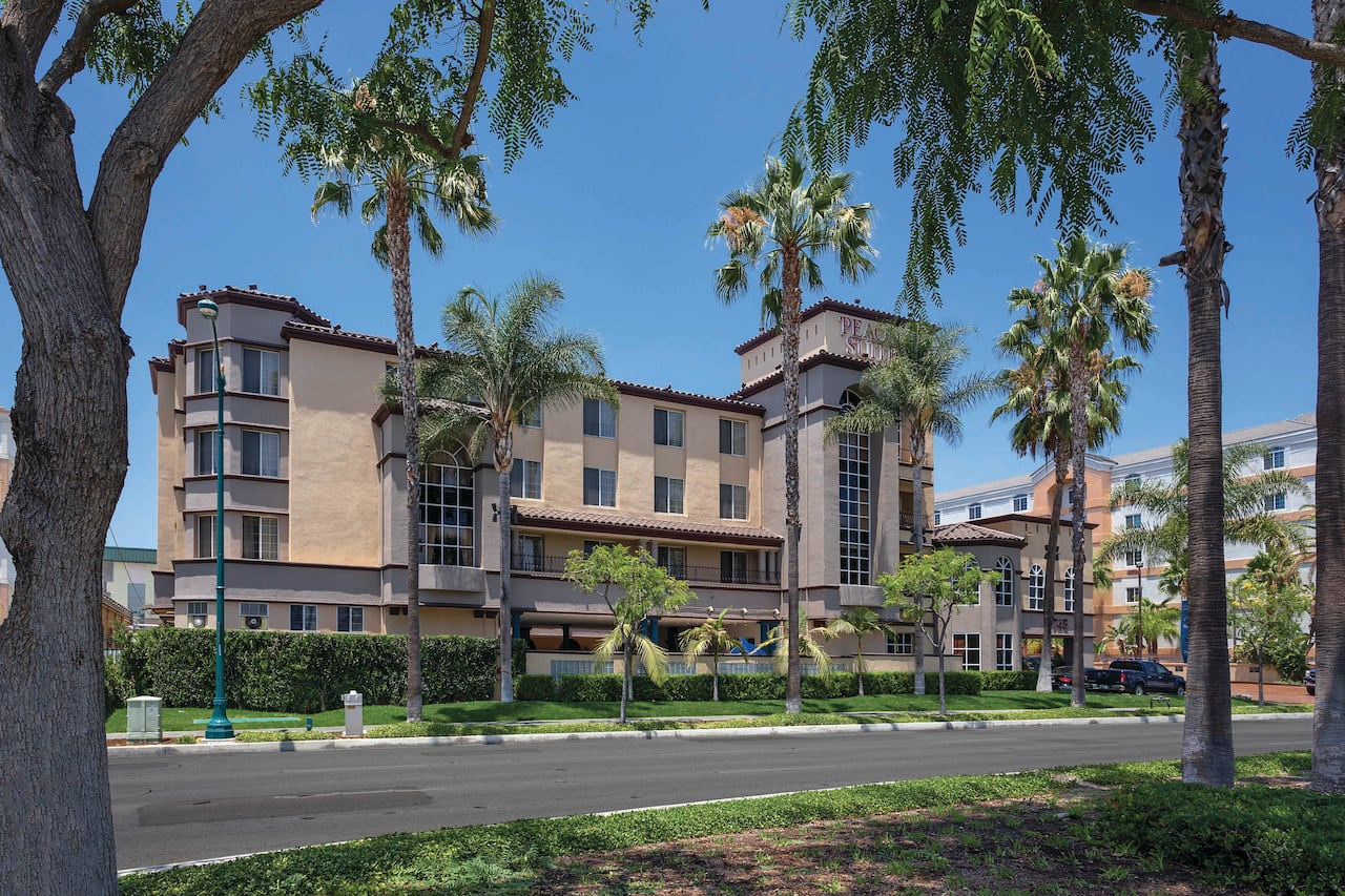 Peacock Suites in Fountain Valley, California
