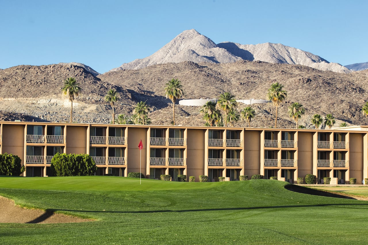 The Plaza Resort & Spa in Palm Springs, California