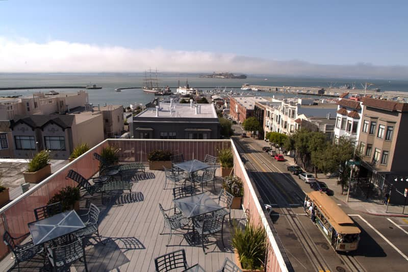 Suites at Fisherman's Wharf in Berkeley, California