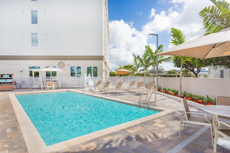 Pool At The Wingate By Wyndham Miami Airport In D Florida