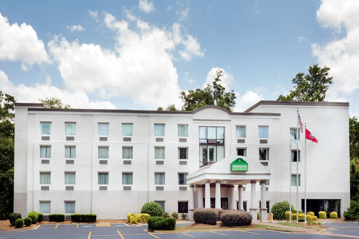 Exterior Of Wingate By Wyndham Athens Near Downtown Hotel In Georgia