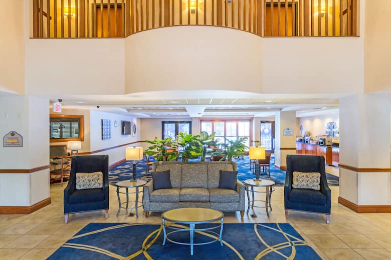 Wingate By Wyndham Houma Hotel Lobby In Louisiana