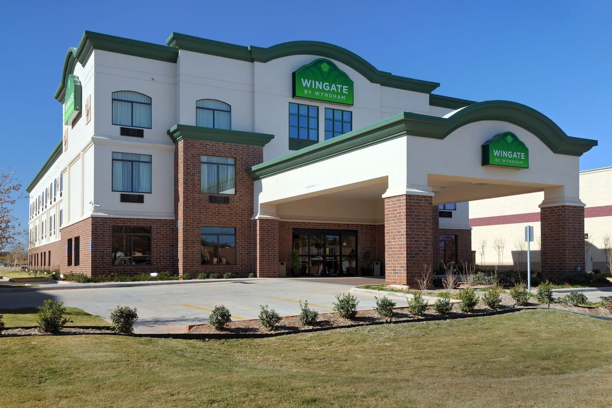 Exterior Of Wingate By Wyndham Abilene Hotel In Texas