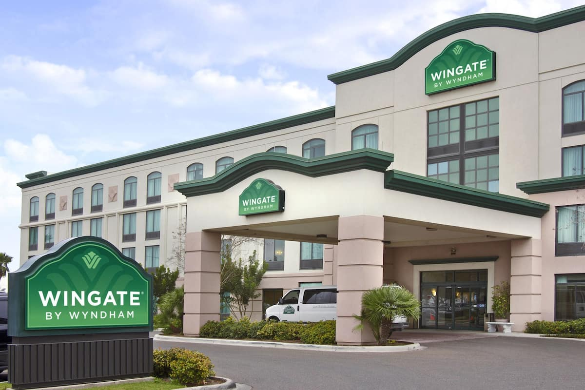 Exterior Of Wingate By Wyndham Mcallen Hotel In Texas