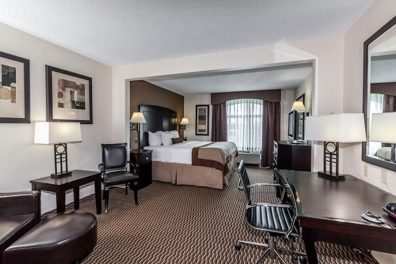 Guest Room At The Wingate By Wyndham Charleston In West Virginia